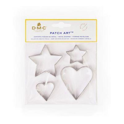 DMC Huovutusmuotit Sydän ja tähdet